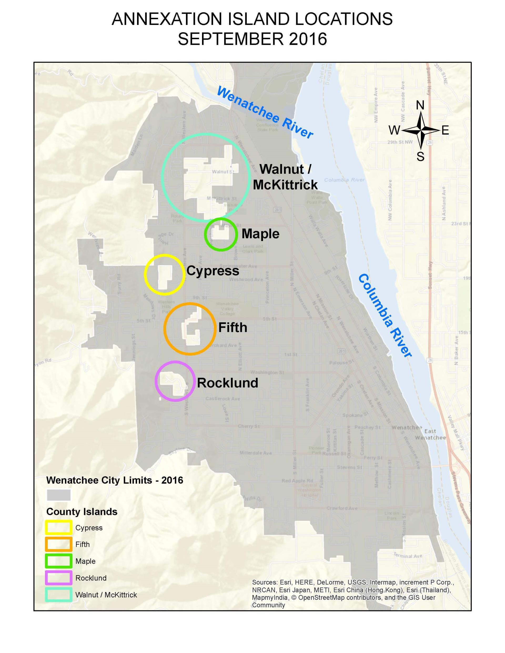 Annexations | Wenatchee, WA on