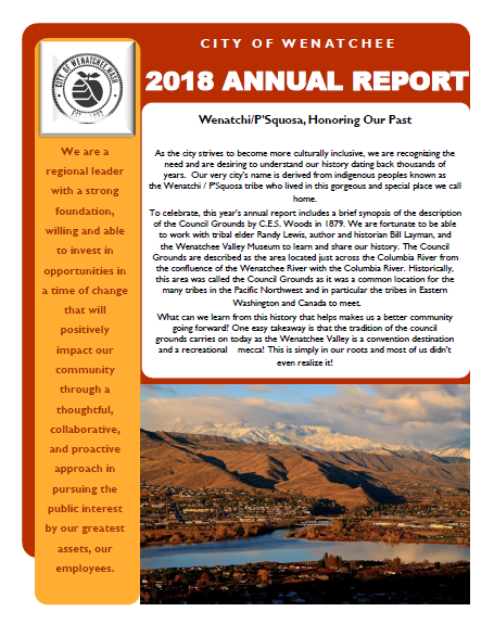 Front of Annual Report